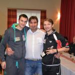 Zacky mit Stefan Fegerl und Werner Schlager